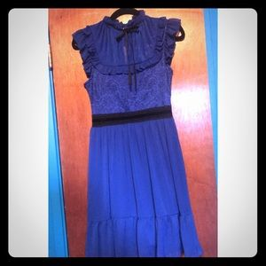 Royal Blue Disney Snow White Dress